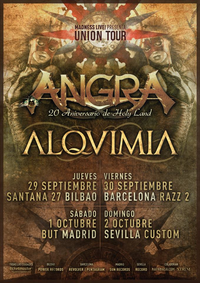 Angra & Alquimia Union Tour