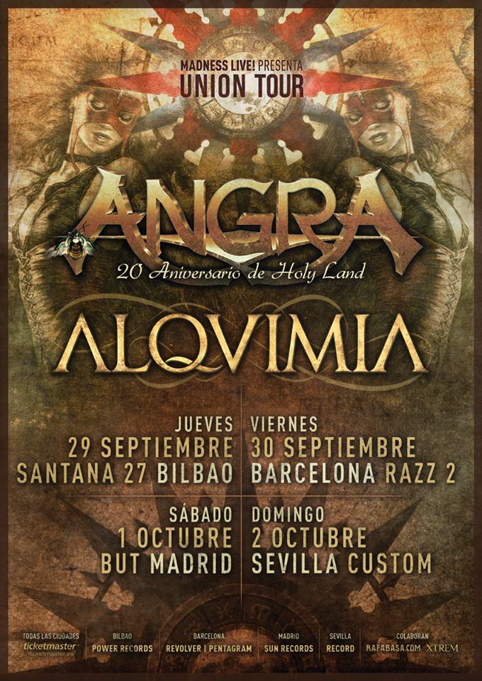 Angra & Alquimia Union Tour